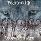Wolves In Art Banner Challenge by timbrewolf