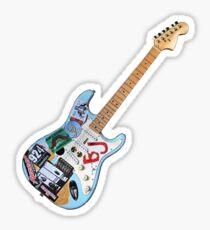 Green Day Blue Sticker