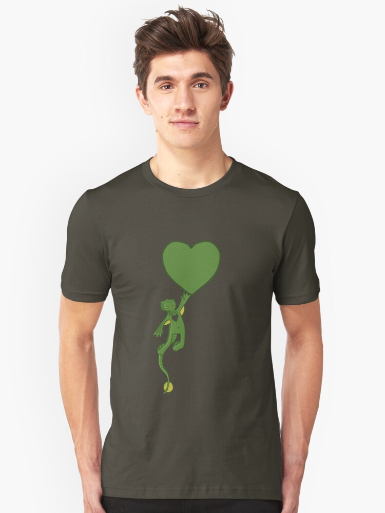 The Love of Cthulhu Unisex T-Shirt Front