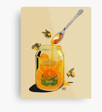 Honey Metal Print