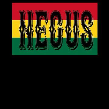 Negus African Flag by cnkna