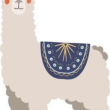 Alpaca, llama, peculiar, de SouthPrints