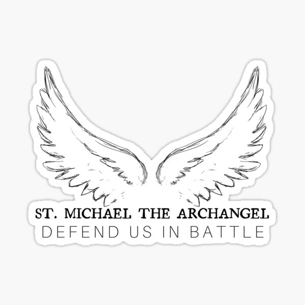 St Michael the Archangel Sticker