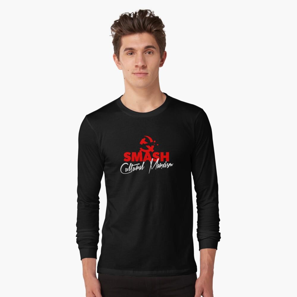 SMASH CULTURAL MARXISM Long Sleeve T-Shirt
