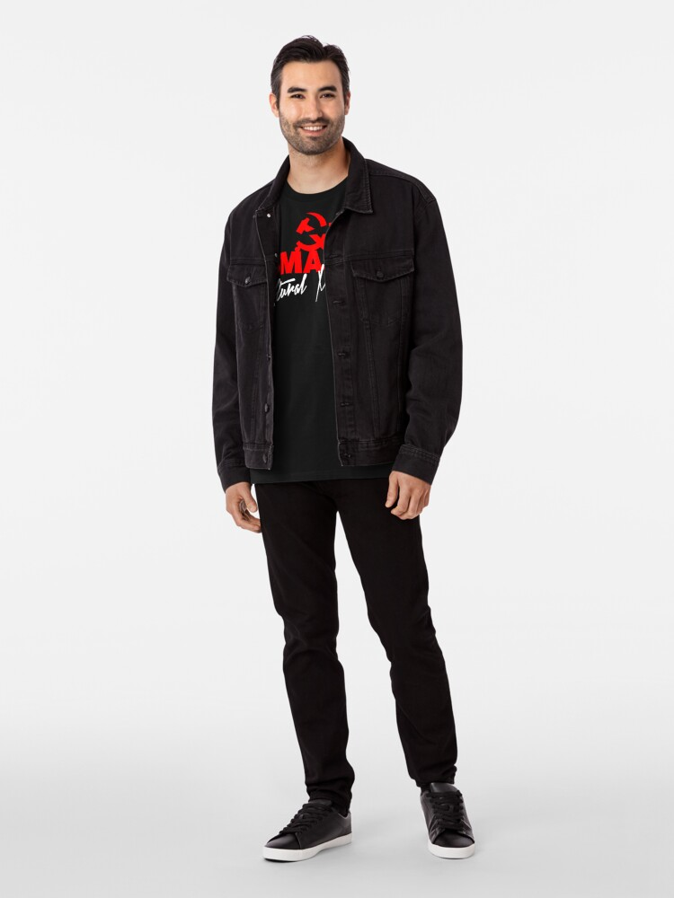Alternate view of SMASH CULTURAL MARXISM Premium T-Shirt
