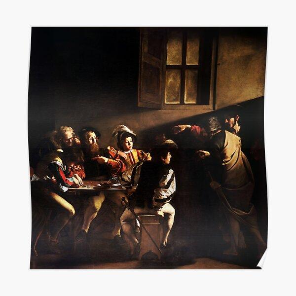 Caravaggio Fine Art Poster Print Basket of Fruit 24x36