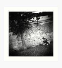 Paris romance Art Print