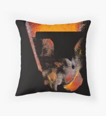 aged abstract monolith..... a space dream Throw Pillow