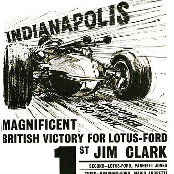 Indy 500. 60s Style! by taspaul