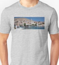 Greek Village of Halki Unisex T-Shirt