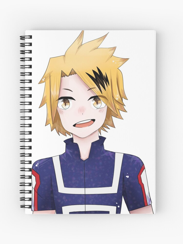Denki Kaminari Chargebolt My Hero Academia Spiral Notebook