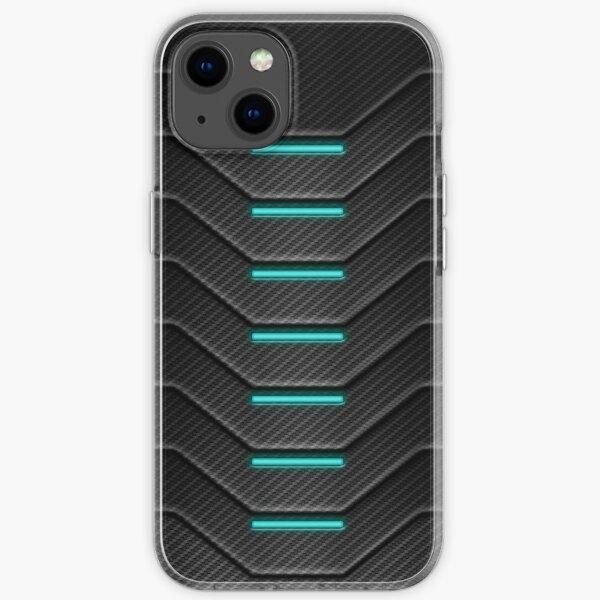 Carbon Fibre Futuristic Phone Case iPhone Soft Case