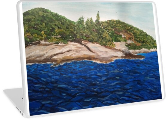Seascape painting (Island Hvar/ Croatia)  by IvanaKada