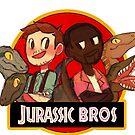Jurassic Bros by aninhat-t