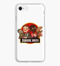 Jurassic Bros iPhone Case/Skin
