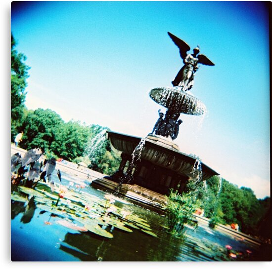 Bethesda Angel, Central Park by Glen Barton