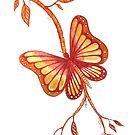 Golden Butterfly by Linda Callaghan