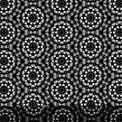 Schwarz Mandala Muster von Costa100