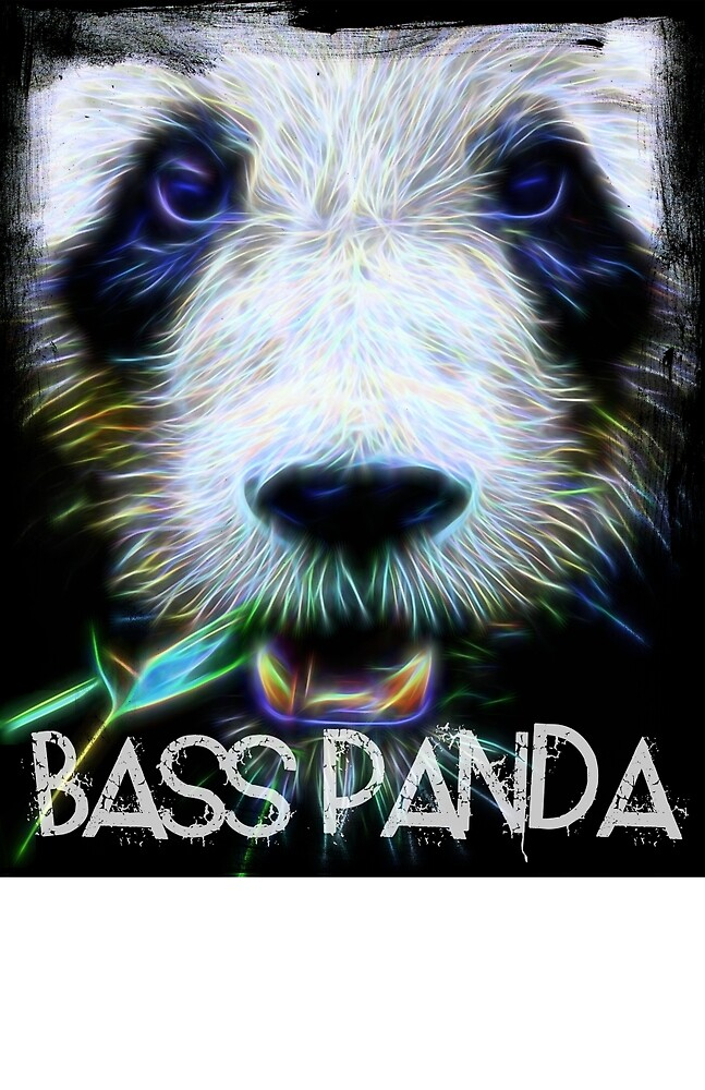 Electric Bass Panda by basspanda