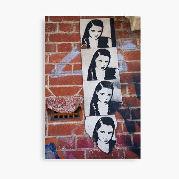 Fremantle Girl Canvas Print