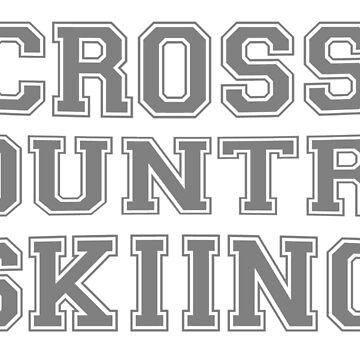 Cross Country Skiing by Pferdefreundin