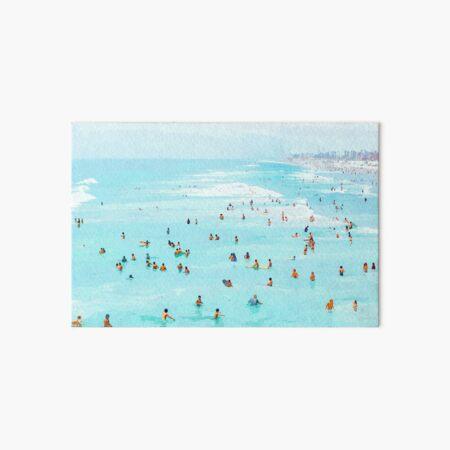 Hot Summer Day #painting #illustration  Art Board Print