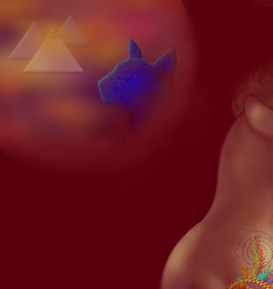 'LIFE' Sensuous Egypt #2, 'Time Machine of the Heart' by luvapples downunder/ Norval Arbogast