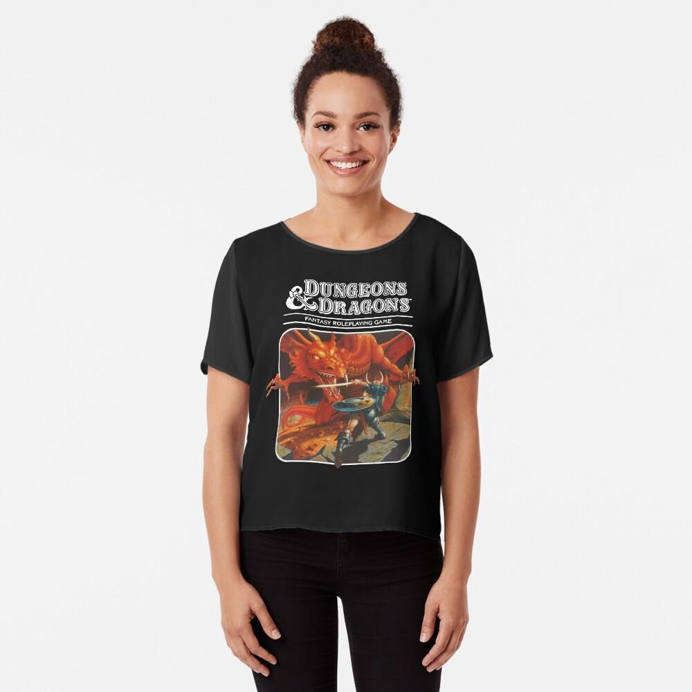 Dungeons & Dragons Chiffon Top