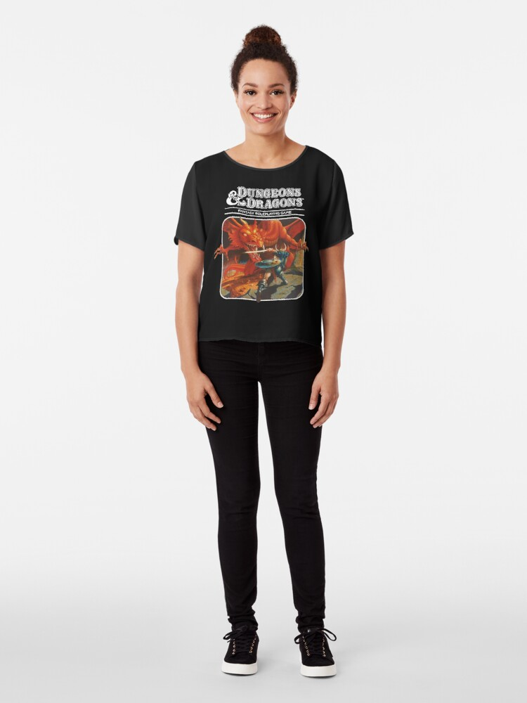 Alternate view of Dungeons & Dragons Chiffon Top