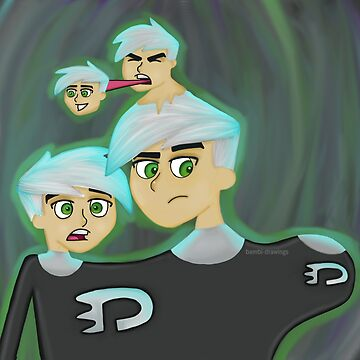 Danny Phantom by bambi-drawings