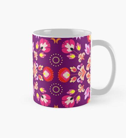 Fiesta Folk Purple #redbubble #folk Mug