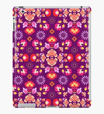 Fiesta Folk Purple #redbubble #folk iPad Case/Skin