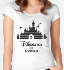 Disnerd and Proud Women's Fitted Scoop T-Shirt