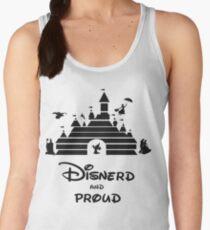 Camiseta de tirantes para mujer Disnerd y Orgulloso