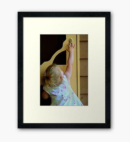 Only Just Framed Print