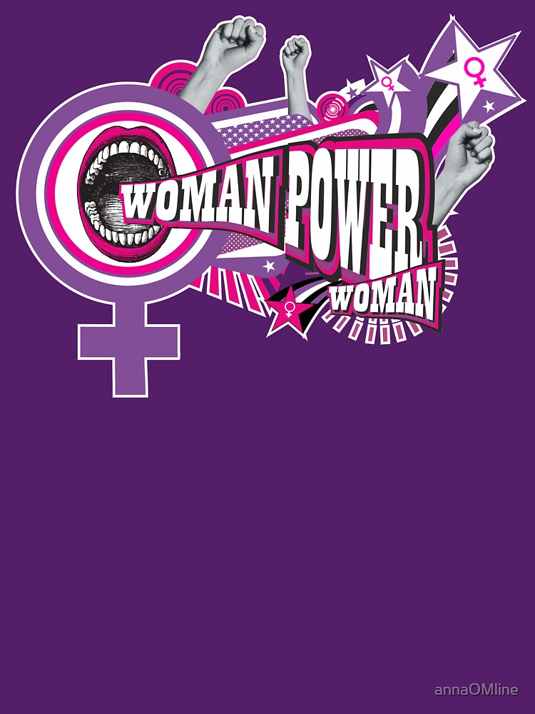 WOMAN POWER = POWER WOMAN by annaOMline