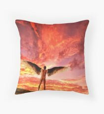 The Point of No Return - Icarus Throw Pillow