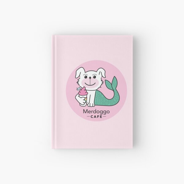 Merdoggo Cafe Hardcover Journal