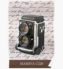 Mamiya C220 Poster