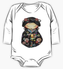 Little Multicolour Teapot One Piece - Long Sleeve
