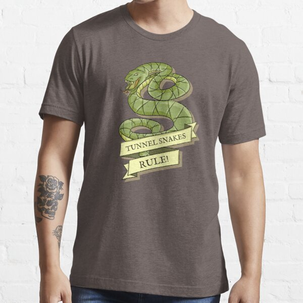 Tunnel Snakes Rule! Essential T-Shirt