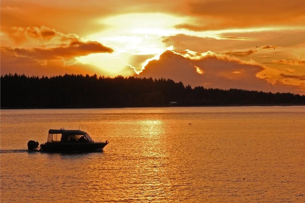 Sunset Paradise  by Shesayer