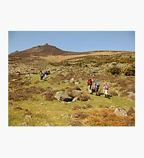 Comeragh mountains Photographic Print