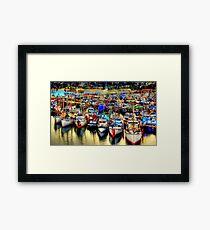 Fishermans Terminal ~ HDR Series ~ Seattle, WA Framed Print