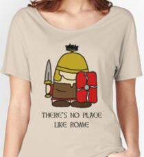 Camiseta ancha There's No Place Like Rome
