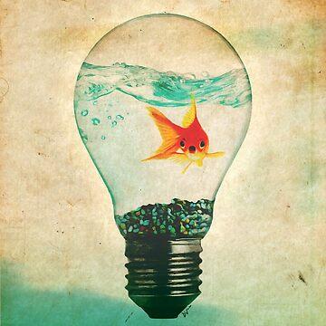 Fish Bulb by DanJohnDesign