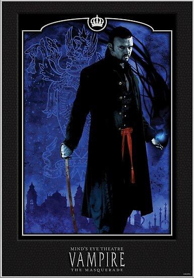 'Lasombra - Black' Poster by bynightstudios