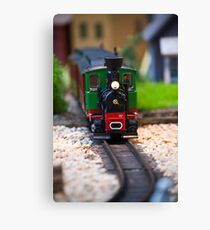 Toy Train II ~ Minatures Series Canvas Print