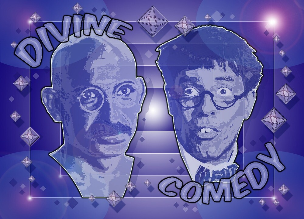 The further adventures of Mahatma Gandhi and the Nutty Professor by dolphinandcow