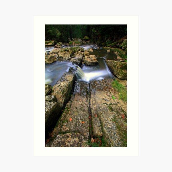 """Rocks and Water"" Art Print"